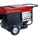6500 watt gas Honda generator